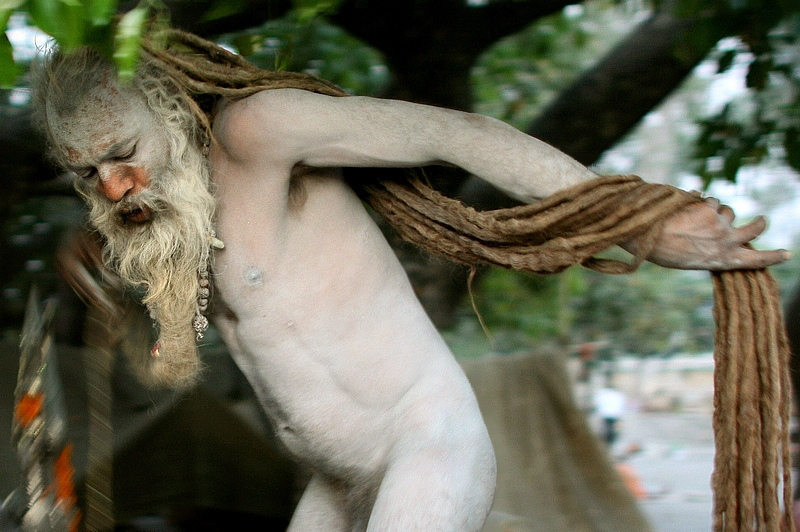 naga sadhu, north india. twenty ten