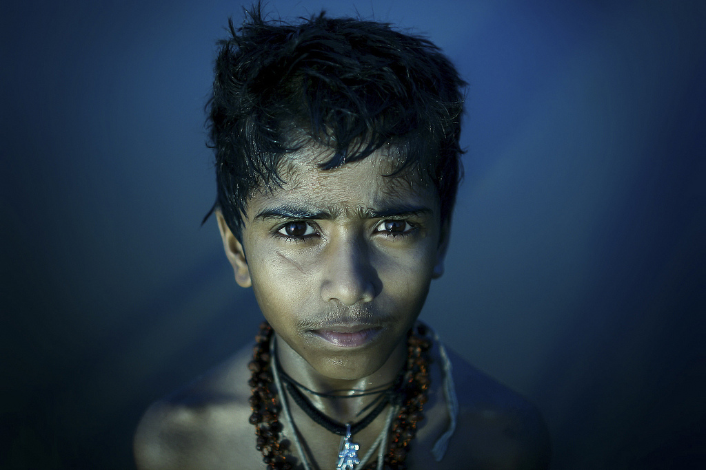young pilgrim, india. twenty ten