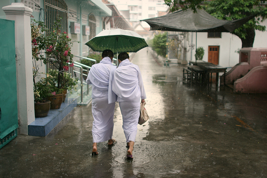 two nuns, bangkok, thailand. twenty ten