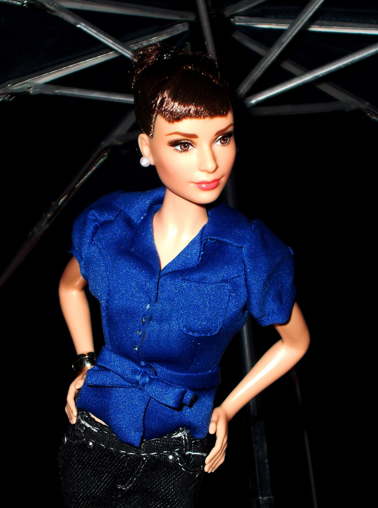 audrey hepburn - the doll kraft of franz