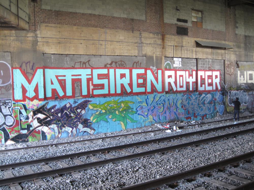 the street art of matt siren