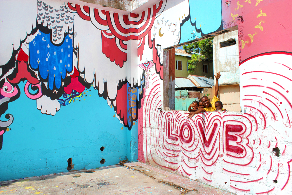 paint jamaica - brightening the streets of inner city kingston