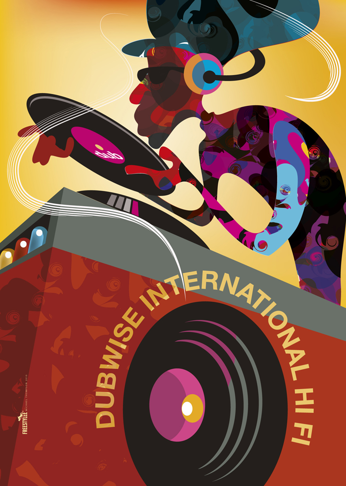 dubwise international hi-fi  - michael thompson