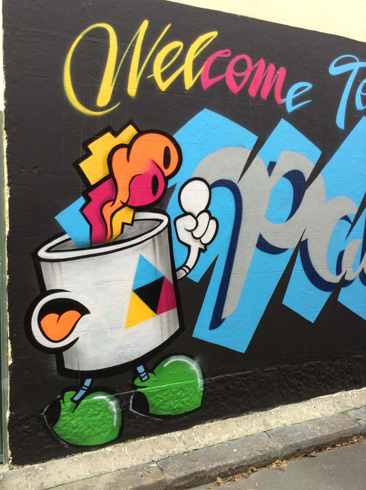 done without permission - the street art of smc3