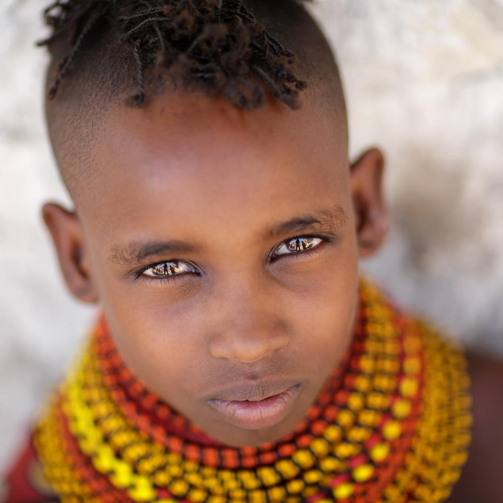 kenya: turkana girl - dietmar temps